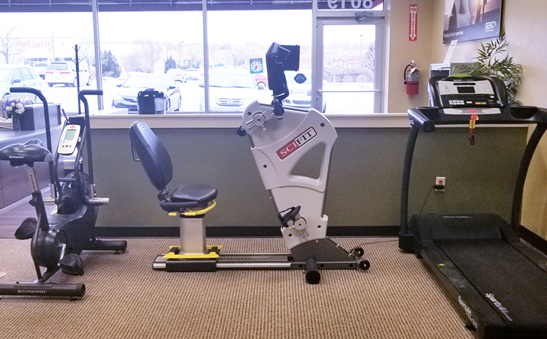 SERC Physical Therapy in South Overland Park, KS (Stanley) Exercise Equipment