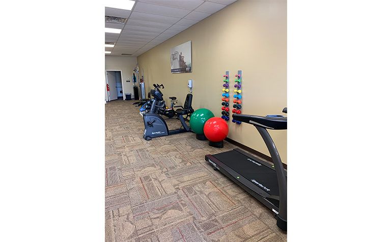SERC Physical Therapy Interior