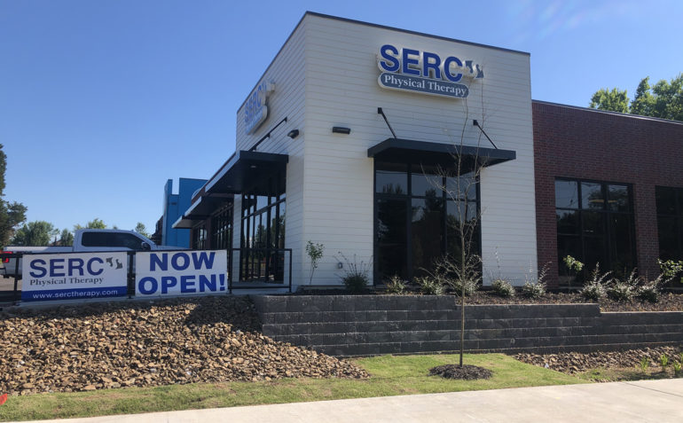 SERC Physical Therapy in Fayetteville, AR (East) Clinic Exterior