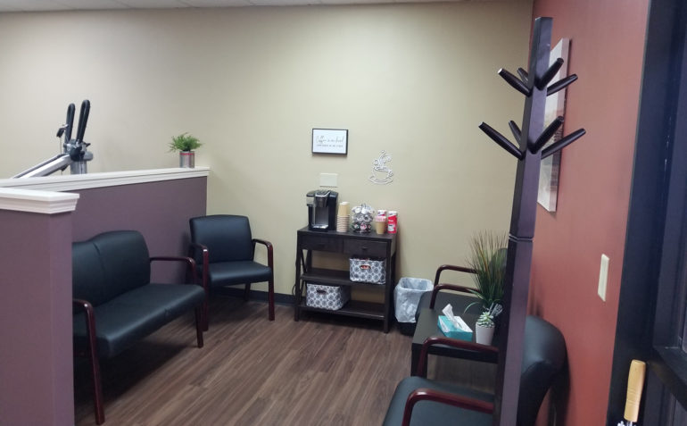 SERC Physical Therapy in Wichita, KS (Northwest) Reception Area