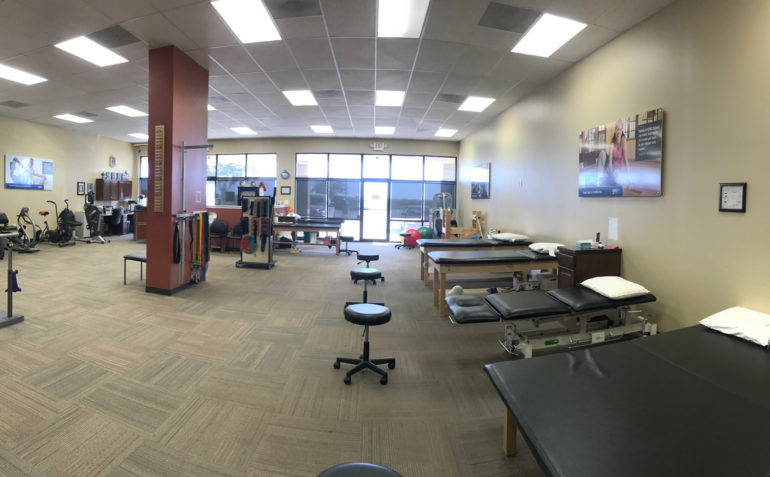 SERC Physical Therapy in Pleasant Hill, MO Clinic Interior